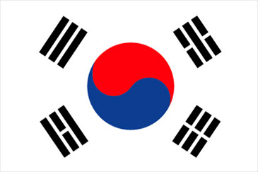 bandera coreana