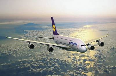 avión hacia Corea