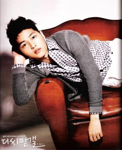 Song Joong Ki High Cut scans 6