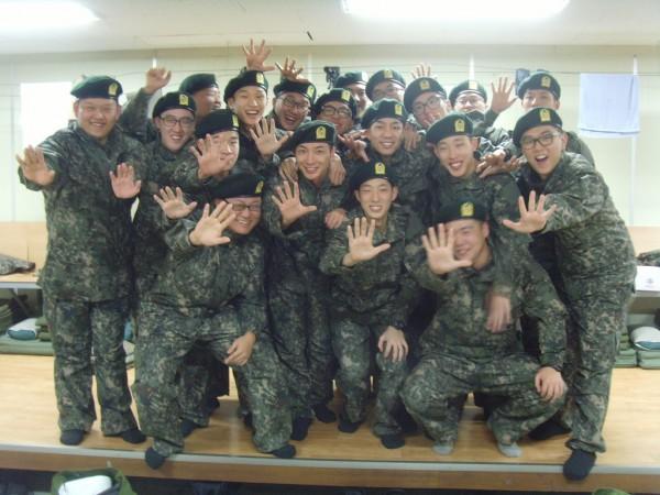 Resultado de imagen para servicio militar en corea del sur