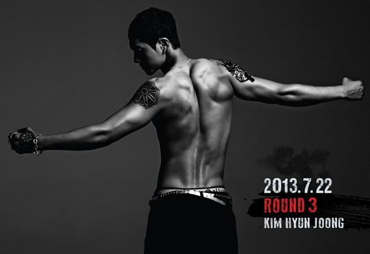 kim hyun joong round 3