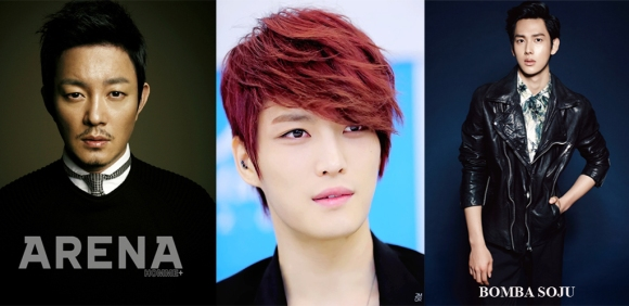 Lee Bum Soo, Jaejoong y Siwan copy