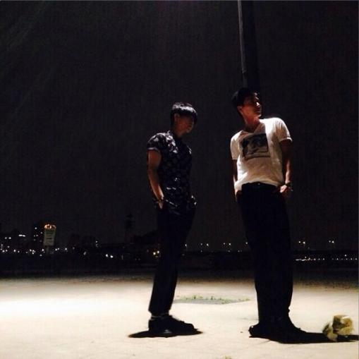 Leeteuk y Yesung