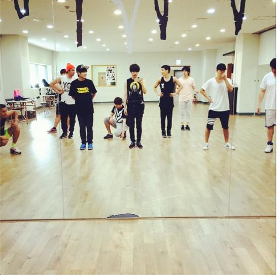 Super Junior (vuelta anticipada de Leeteuk)