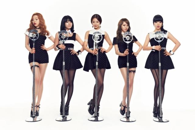 Ladies Code (Ashley, Rise[fallecida], Zunny, EunB[fallecida] y Sojung)