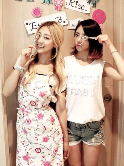 Ladies Code Rise y EunB