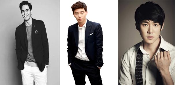 Lee Jin Wook, Park Seo Joon y Yoo Yeon Seok