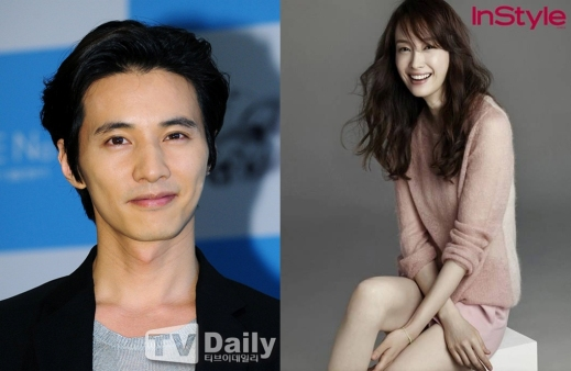 Won Bin y Lee Na Young