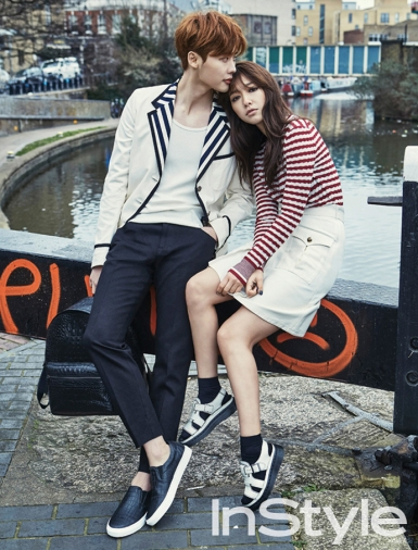 Lee Jong Suk y Park Shin Hye